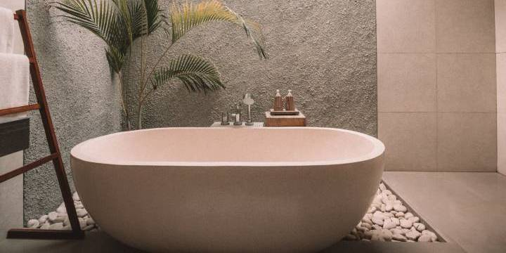 Find gode ideer til dit badeværelsesgulv